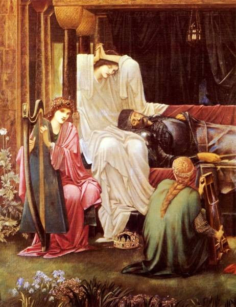 Burne Jones Sir Edward The Last Sleep Of Arthur In Avalon